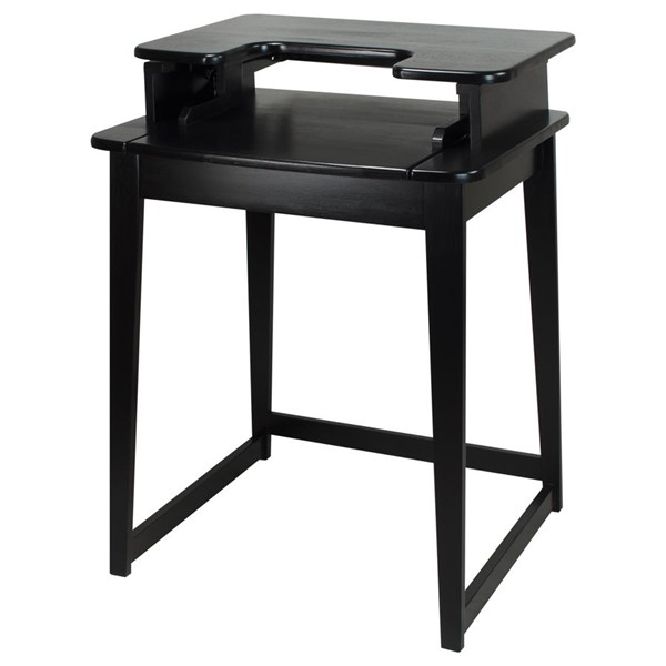 Casual Home Black Freestyle Stand Up Desk CHOM-900-12