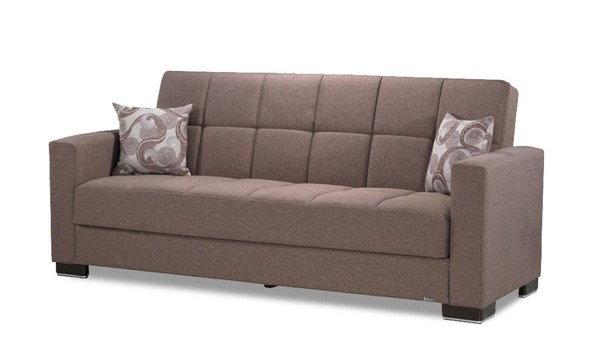 Casamode Armada Brown Fabric Sofa CMD-ARMADA-BROWN-SOFA