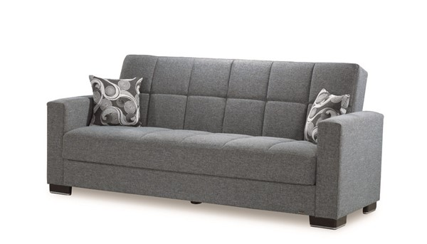 Casamode Armada Gray Fabric Sofa CMD-ARMADA-GRAY-POLY-SOFA