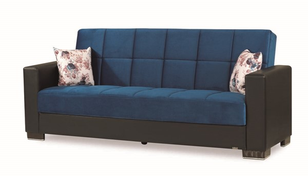 Casamode Armada Emerald Blue Sofa CMD-ARMADA-EMERALD-BLUE-MIC-SOFA