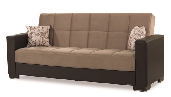 Casamode Armada Sand Brown Sofa CMD-ARMADA-SANDBROWN-MIC-SOFA