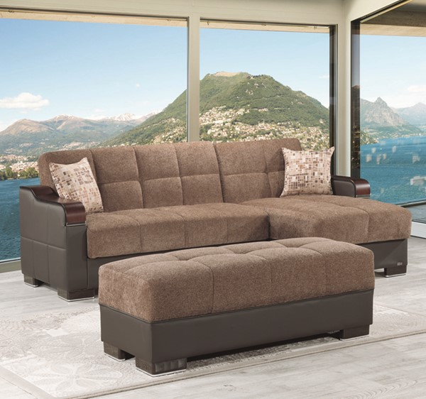 Casamode Down Town Sectionals with Ottoman CMD-DOWN-TOWN-SECTIONAL-SET-VAR