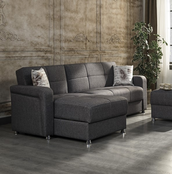 Casamode Harmony Gray Sectional CMD-HARMONY-GRAY-SECTIONAL