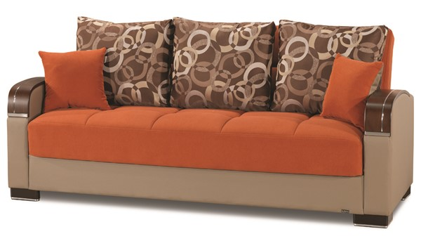 Casamode Mobimax Orange Sofabed CMD-MOBIMAX-ORANGE-SOFABED