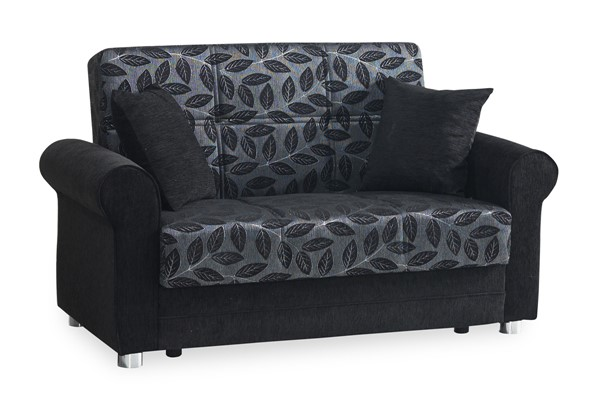 Casamode Rio Grande Black Loveseat CMD-RIO-GRANDE-BLACK-LOVESEAT