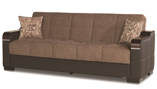 Casamode Uptown Brown Sofabed CMD-UPTOWN-BROWN-SOFABED