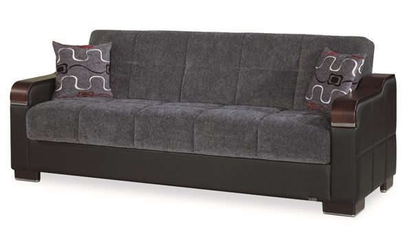 Casamode Uptown Gray Sofabed CMD-UPTOWN-GRAY-SOFABED