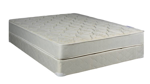 Comfort Bedding Classic Tight Top Gentle Firm Double Sided Twin Mattress and Box 100-02 M100-02