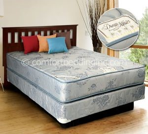 Comfort Bedding Dream Master Tight Top Gentle Firm Queen Mattress and Box M151-06