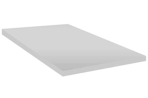 White Foam Topper No Cover Queen Mattress M2000-3