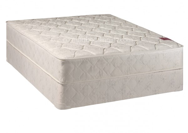 Comfort Bedding Legacy Tight Top Gentle Firm Single Sided Twin Mattress and Box M21-2