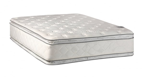 Princess White Pillowtop Medium Plush Double Sided Queen Mattress M302-5
