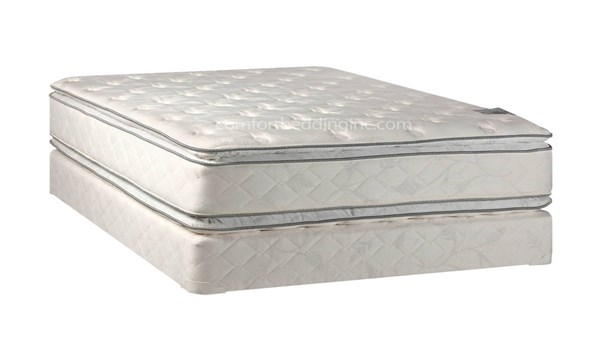Comfort Bedding Princess Pillow Top Medium Plush Double Sided Queen Mattress and Box M302-6