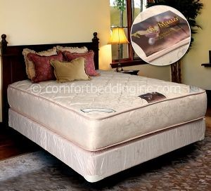 Comfort Bedding Ortho Master Tight Top Firm Double Sided Full Mattress and Box M501-04