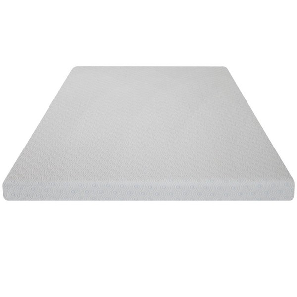 White Tight Toop Visco Gel Soft Foam Topper With Cover Mattress M7001-MAT-VAR