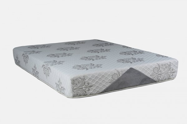 Comfort Bedding Visco Gel 10 Inch Tight Top Medium Plush Single Sided Mattress M720-MAT-VAR