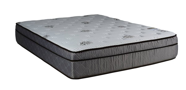 Fifth Ave Foam Encased Eurotop Soft Single Sided Full Mattress M9001-3