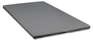 Comfort Bedding Stitch Bond Grey Queen Bunky Board BB-Bunky-Board-3