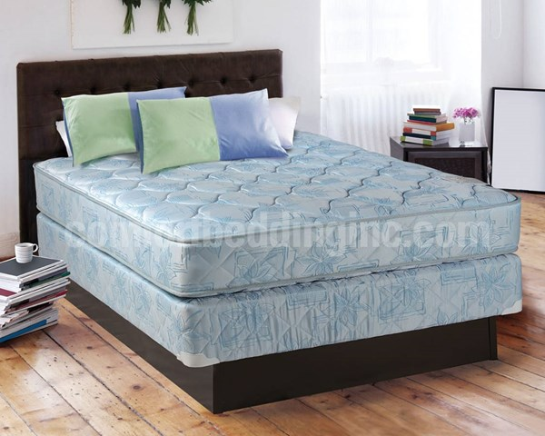Classic Blue Tight Top Gentle Firm Double Sided Full Mattress And Box M101-4
