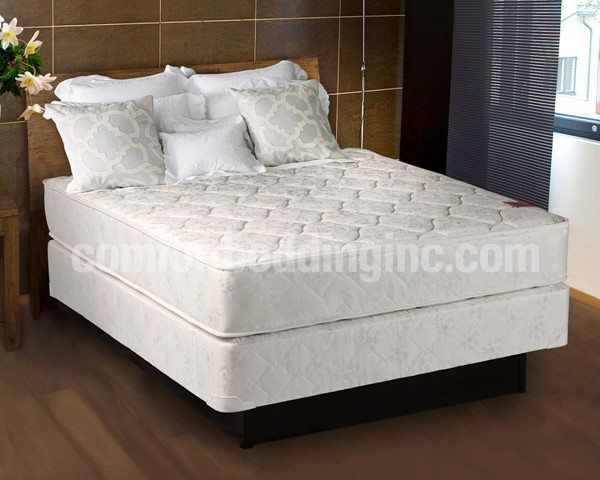 Comfort Bedding Legacy Tight Top Gentle Firm Double Sided Queen Mattress and Box M22-06