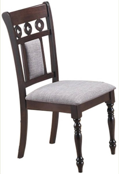 2 Cosmos Furniture Lakewood Espresso Dining Chairs CMS-Lakewood-Chair