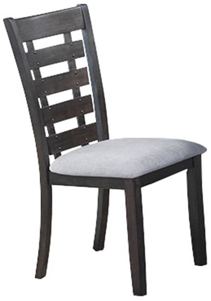 2 Cosmos Furniture Bailey Gray Dining Chairs CMS-Bailey-Chair