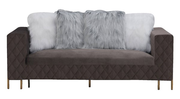 Cosmos Furniture Madison Gray Sofa CMS-Madison-Sofa