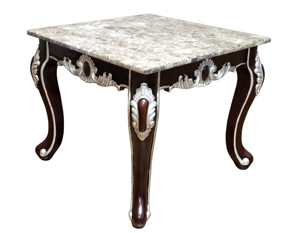 Cosmos Furniture Monica Cherry End Table CMS-Monica-EndTable