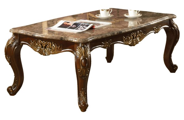 Cosmos Furniture Britney Cherry Coffee Table CMS-Britney-CoffeeTable