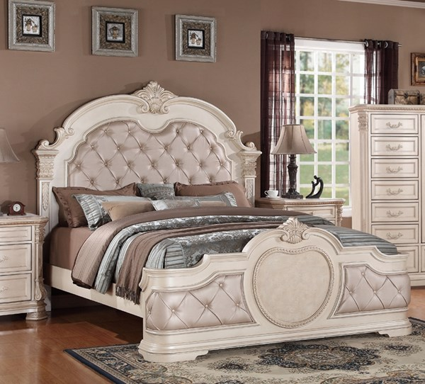 Infinity Antique Queen Bed CMS-INFINITY-QBED