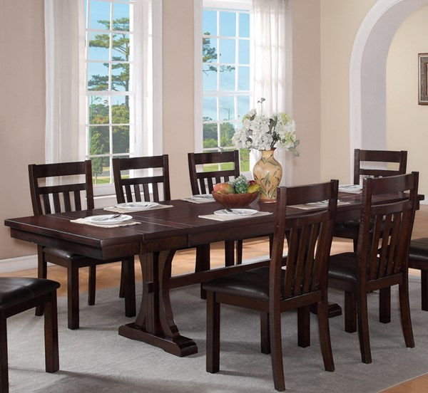 Montana Brown Wood Dining Table CMS-MONTANA-DT