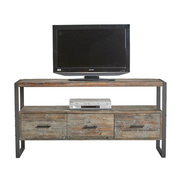 Crawford and Burke Brixton Antique Gray Swanson Media Console CNB-061280MC