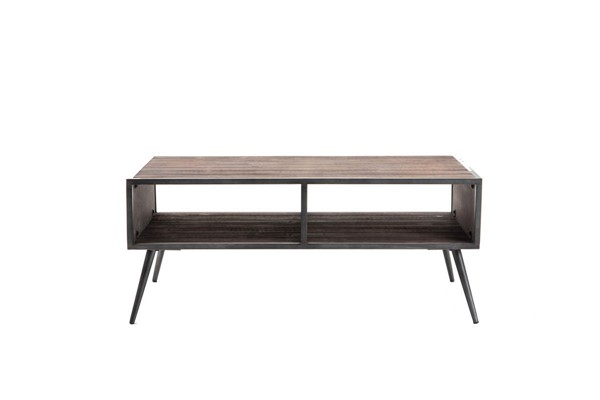 Crawford and Burke Brixton Antique Gray Breman Cocktail Table CNB-106639CT