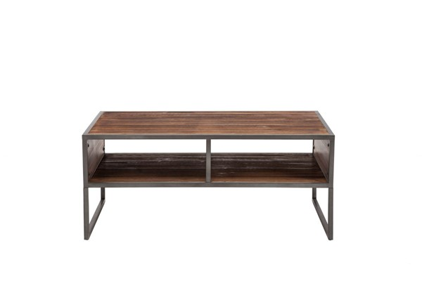 Crawford and Burke Brixton Natural Brown Essex Coffee Table CNB-10160CT