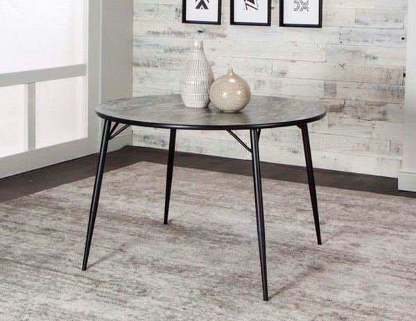 Cramco Cindy Robin Magna Laminate 42 Inch Round Dining Table CRM-D8070-56