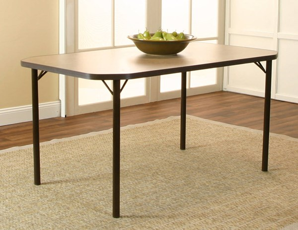 Cramco Jacey Beige Laminate Rectangular Clipped Corner Dining Table CRM-D8273-57