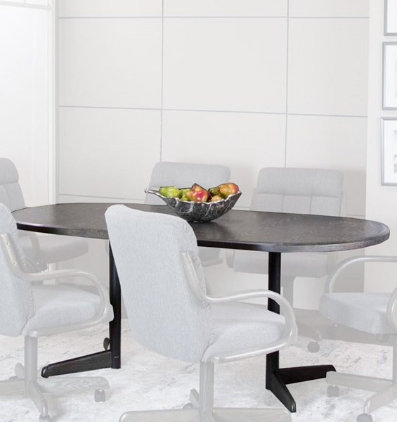 Cramco Mercury Gray Wood 72 Inch Dining Table CRM-WE590-74-72