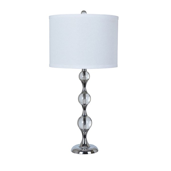 Crestview Collection Metal Round Shade Table Lamp CRST-ABS1271