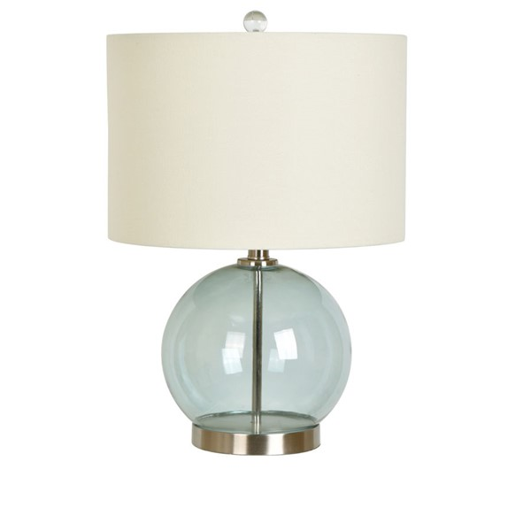 Crestview Collection Blue Metal Table Lamp CRST-ABS1315BUSNG