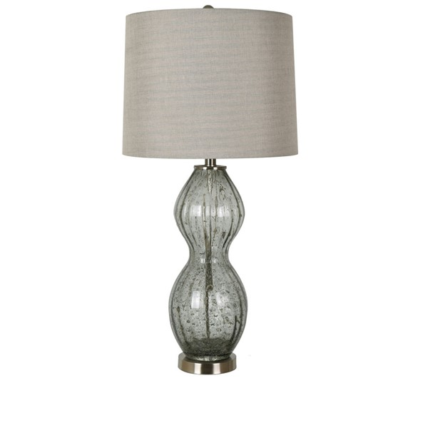 Crestview Collection Brushed Metal Table Lamp CRST-ABS1399BNSNG