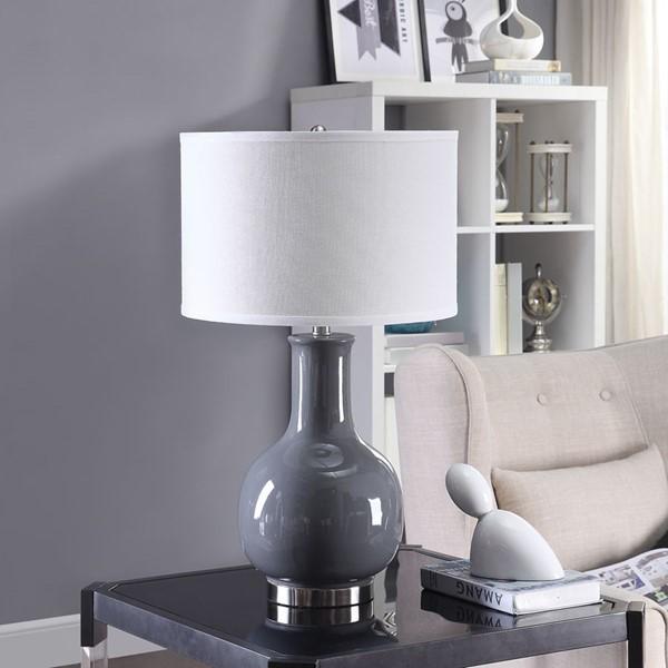 Crestview Collection Ceramic Metal Table Lamps CRST-AP2206-LMP-VAR