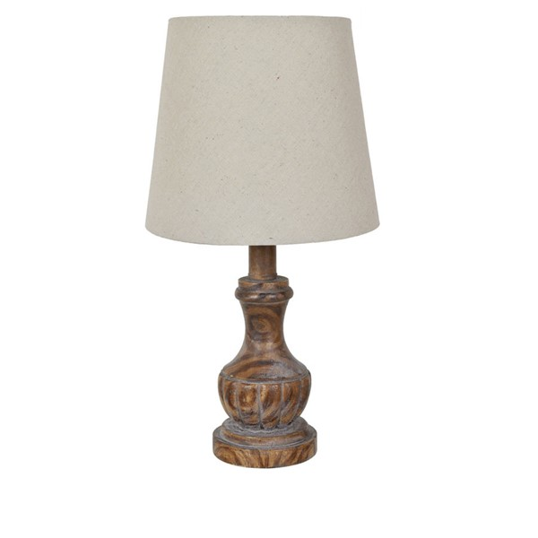 Crestview Collection Shaded Accent Table Lamp CRST-AVP809TZWSNG