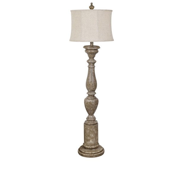 Crestview Collection Poly Shaded Floor Lamp CRST-AVP876