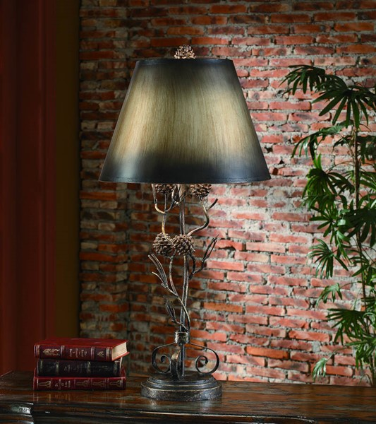 Crestview Collection Antique Twig Table Lamp CRST-CIAER100