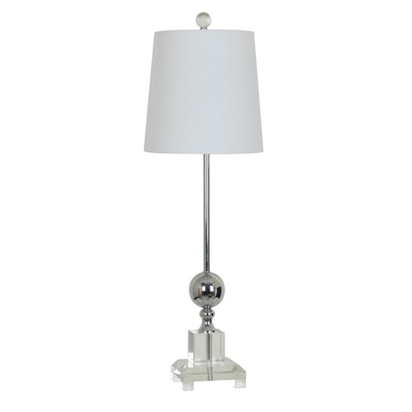 Crestview Collection Sona Crystal Table Lamp CRST-CVABS1044