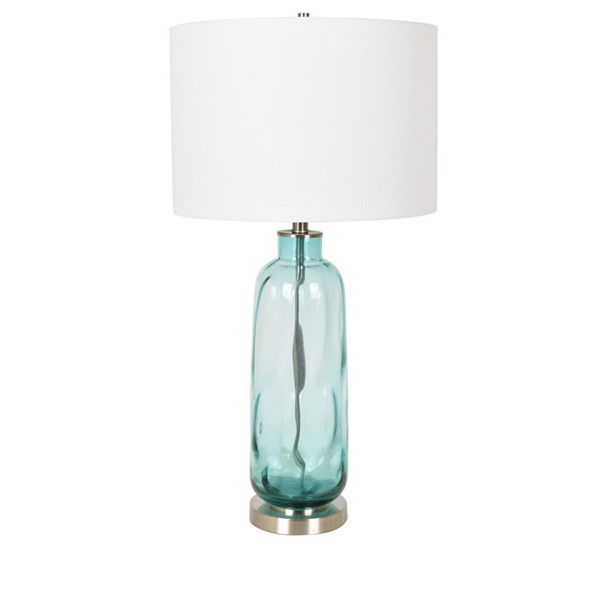 2 Crestview Collection Sophia Blue Green White Table Lamps CRST-CVABS1471