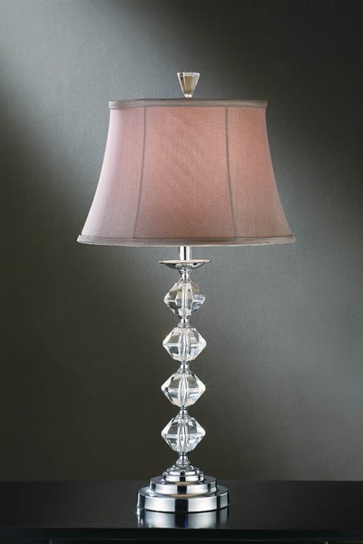 Crestview Collection Celena Champaign Table Lamp CRST-CVABS430