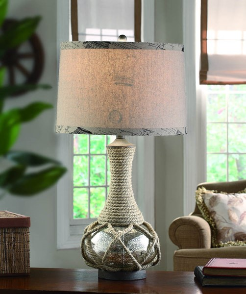 Crestview Collection Freeport Rope Table Lamp CRST-CVABS500