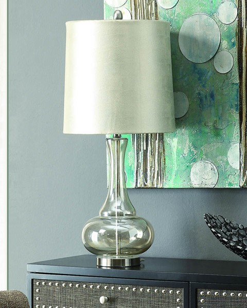 Crestview Collection Monaca Champagne Table Lamp CRST-CVABS639