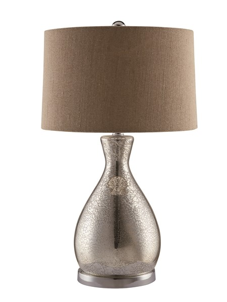 Crestview Collection Sparkle Burlap Table Lamp CRST-CVABS674